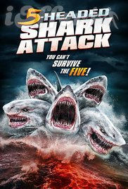 5 Headed Shark Attack (2017) Movie