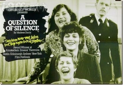 A Question of Silence (1982) De stilte rond Christine M 1
