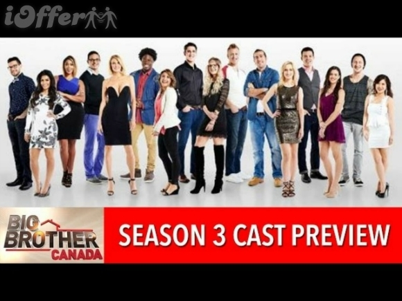 Big Brother Canada Season 3 (2015) FREE SHIPPING