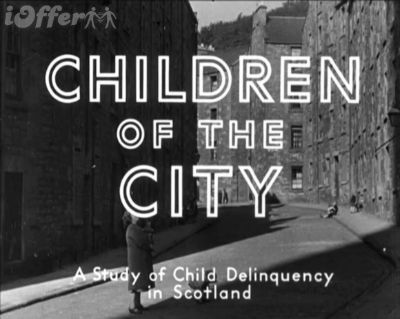 Children of the City 1944 Documentary Child Delinquency