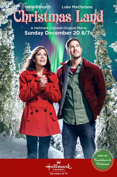 Christmas Land (2015) w Nikki Deloach Luke Macfarlane