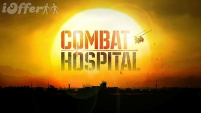 Combat Hospital, starring Elias Koteas, Michelle Borth 1