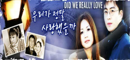 Did We Really Love Starring Bae Yong Joon ENG Subtitles