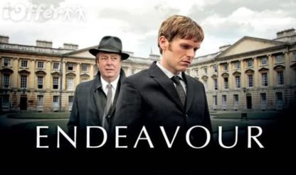 Endeavour Seasons 1 and 2 Complete (2014) 1