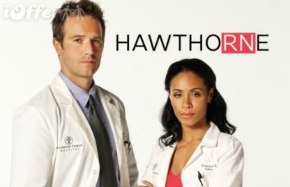 Hawthorne Complete Series with all 3 Seasons 1
