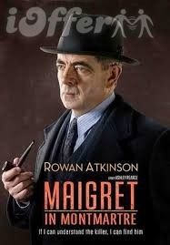 Maigret in Montmartre with Rowan Atkinson 1
