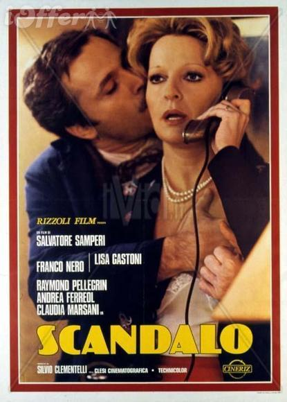 Scandalo (Submission) 1976 with English Subtitles