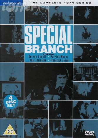 Special Branch 1970s Series Seasons 1, 2, 3 and 4