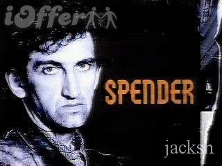 Spender Starring Jimmy Nail COMPLETE Series + French CL 1