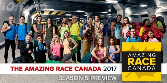 The Amazing Race Canada Season 5 with Finale