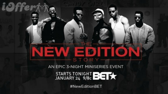 The New Edition Story Parts 1, 2 and 3 (2017)