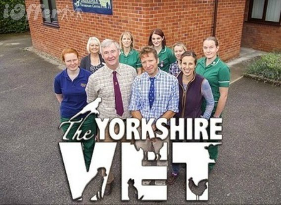 The Yorkshire Vet Seasons 1, 2, 3, 4, 5 Chris Timothy