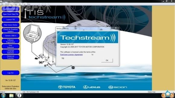 Toyota Techstream Full 2018 Version