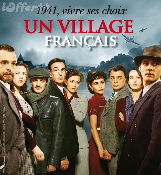 Un village francais Complete 5 Seasons with English Sub