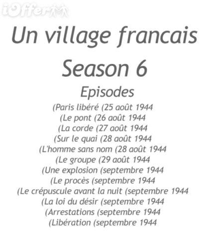 Un Village Francais Season 6 with English Subtitles 2