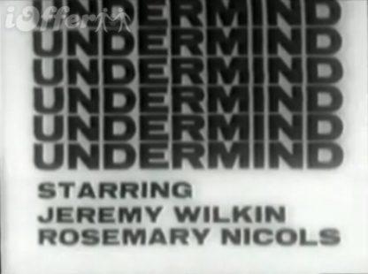 Undermind 1965 Series Starring Jeremy Wilkin 1