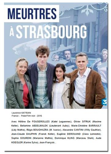 Murder in Strasbourg (2017) with English Subtitles DVD