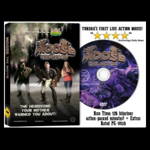 Moose the Movie on DVD