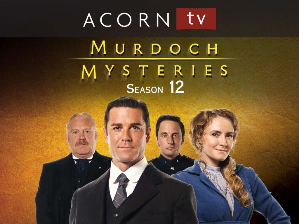 Murdoch Mysteries Season 12 with Finale (2019)