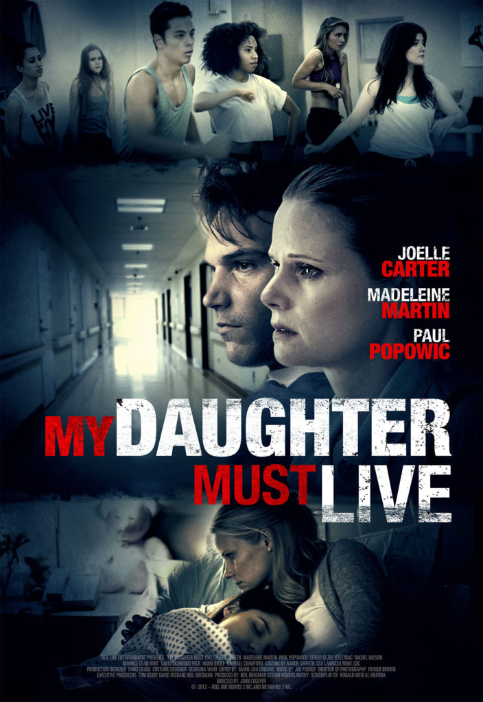 My Daughter Must Live (2014) Starring Joelle Carter on DVD
