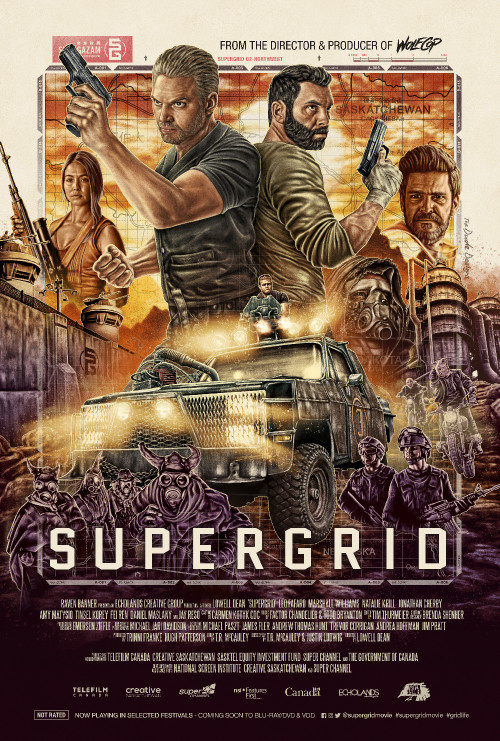 Supergrid 2018 starring Leo Fafard, Marshall Williams on DVD