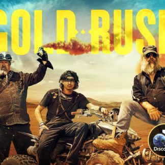 Gold Rush Seasons 8 and 9 on DVD
