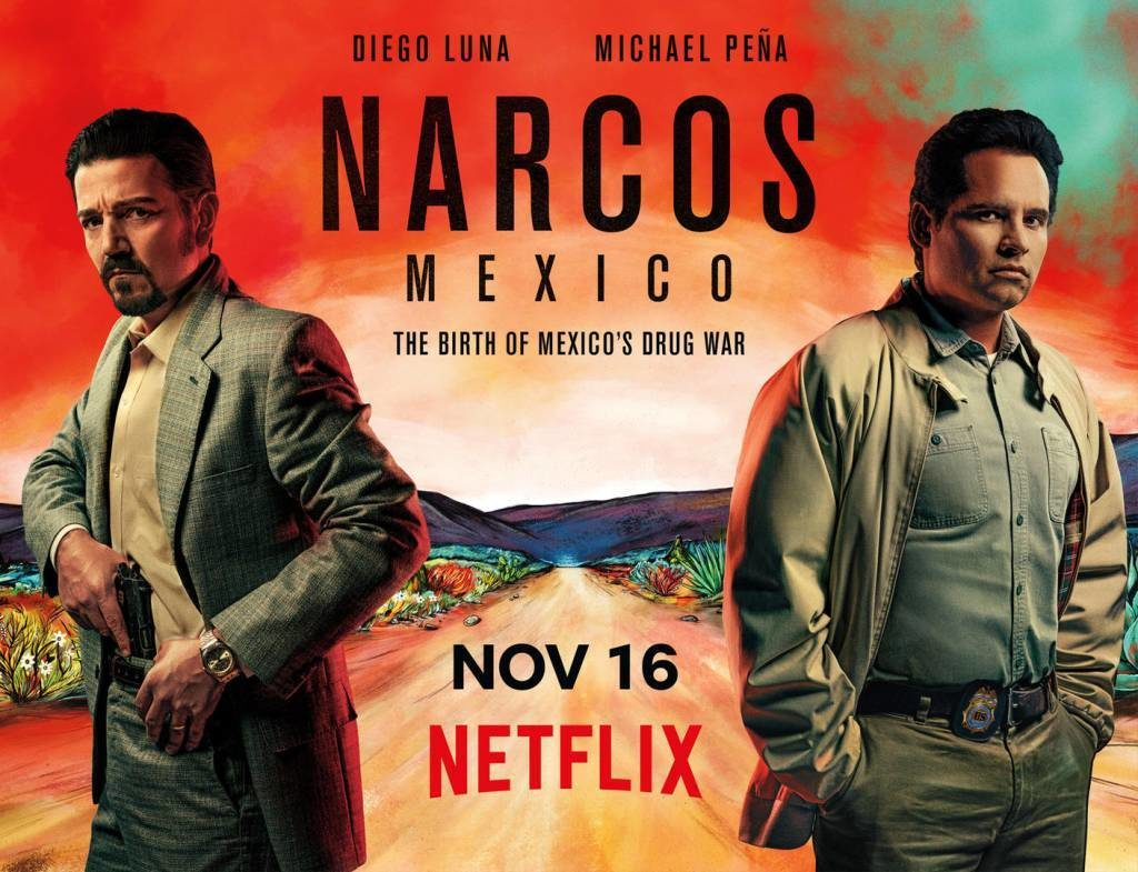 Narcos Mexico Season 1 (2019) Complete on DVD