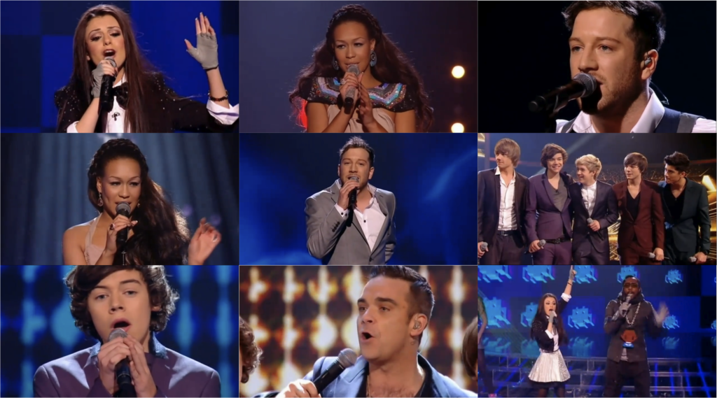 The X Factor UK Season 7 (2010) with Finale on DVD