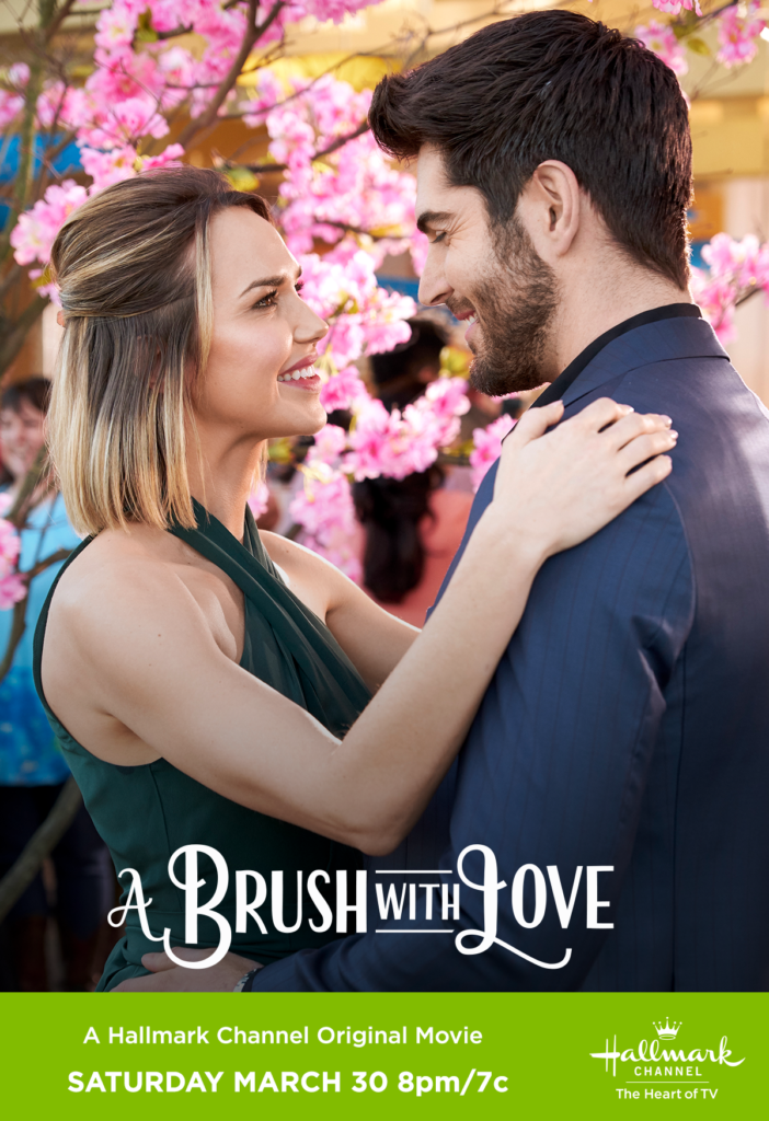 A Brush with Love (2019) starring Arielle Kebbel, Nick Bateman
