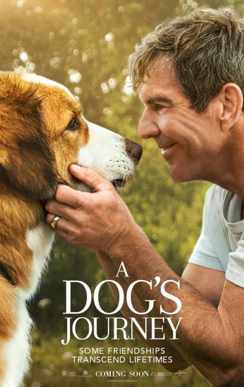 A Dog's Journey (2019) Starring Dennis Quaid, Josh Gad