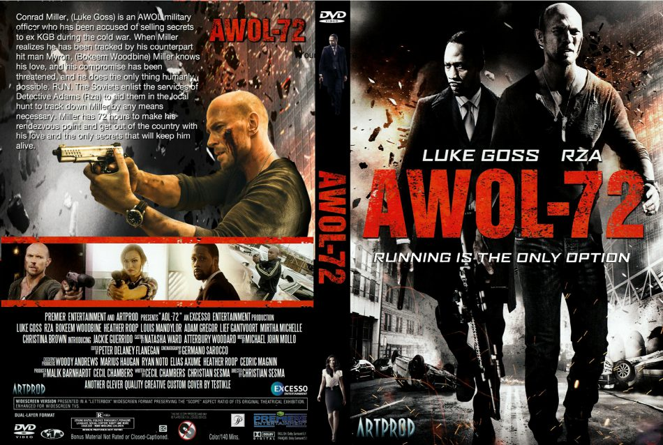 AWOL-72 2015 DVD Cover