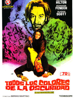 All The Colours Of The Dark 1972 DVD
