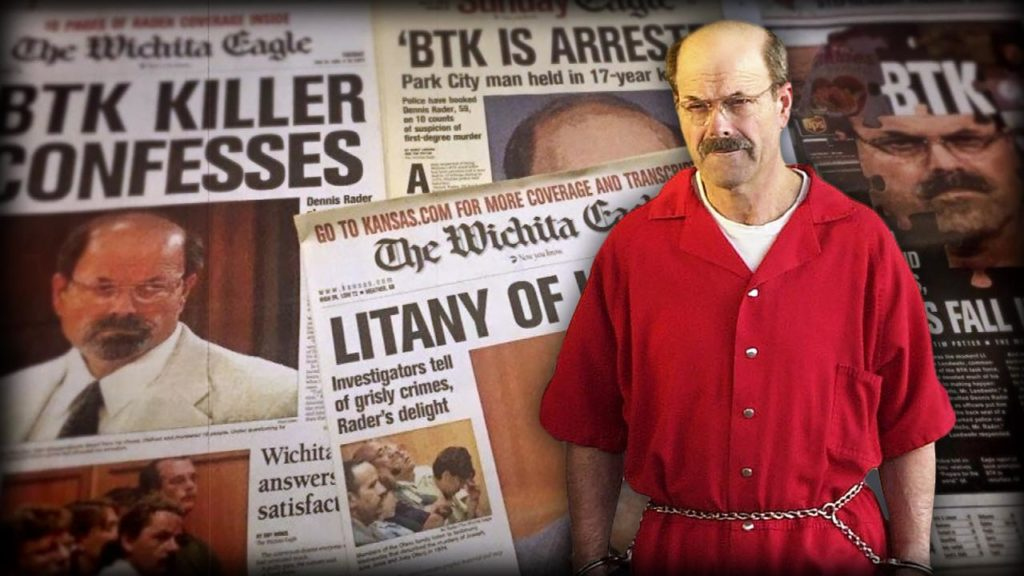 BTK: A Killer Among Us (Dennis Rader) 2019 on DVD
