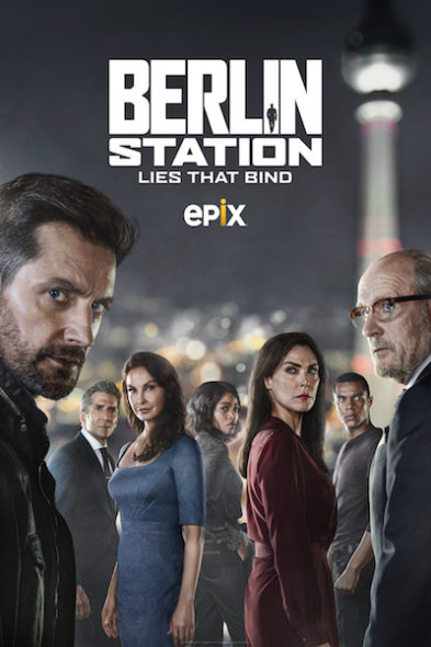 Berlin Station Season 3 (2019) with Finale on DVD