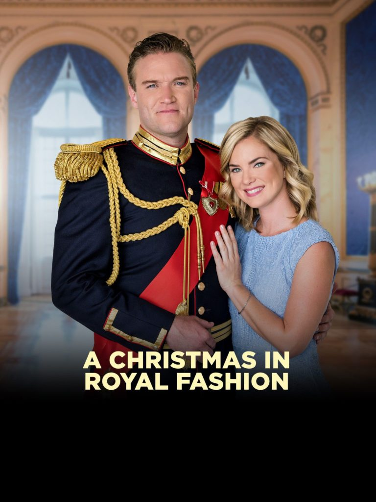 Christmas In Royal Fashion (2018) starring Cindy Busby on DVD