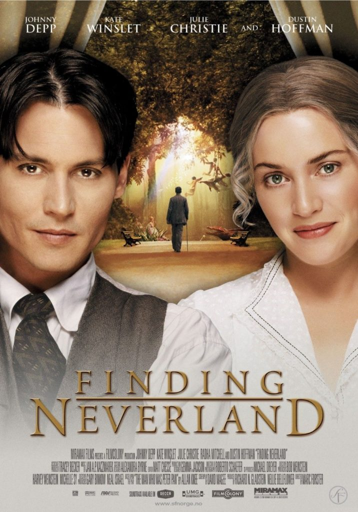 Finding Neverland (2004) Starring Johnny Depp
