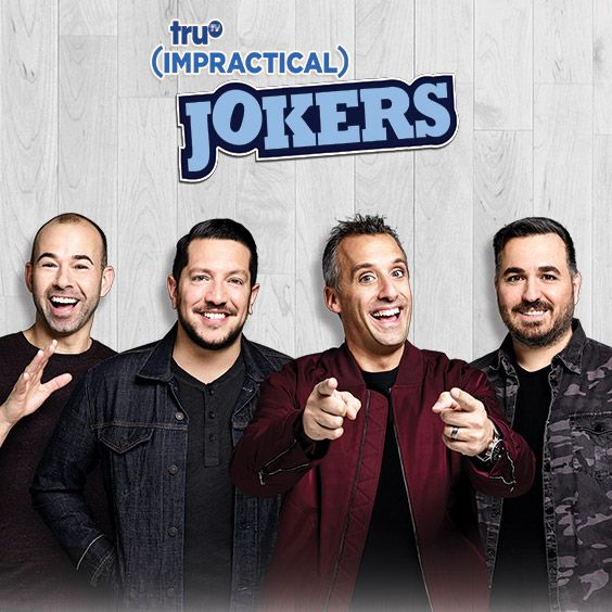 Impractical Jokers Complete Seasons 1 and 2 on DVD