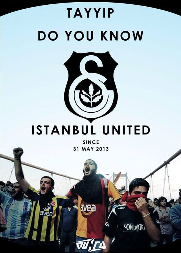 Istanbul United (2014) DVD Poster