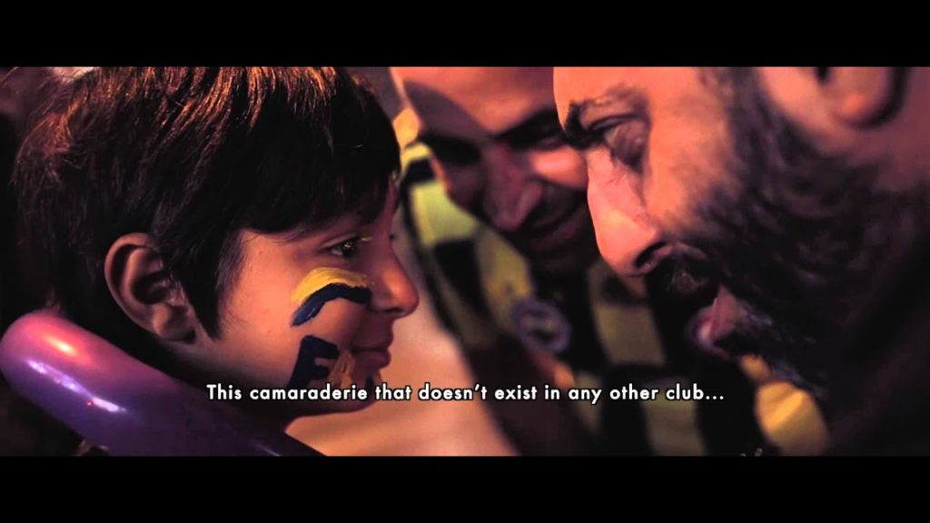 Screenshot from Istanbul United (2014) Father Son