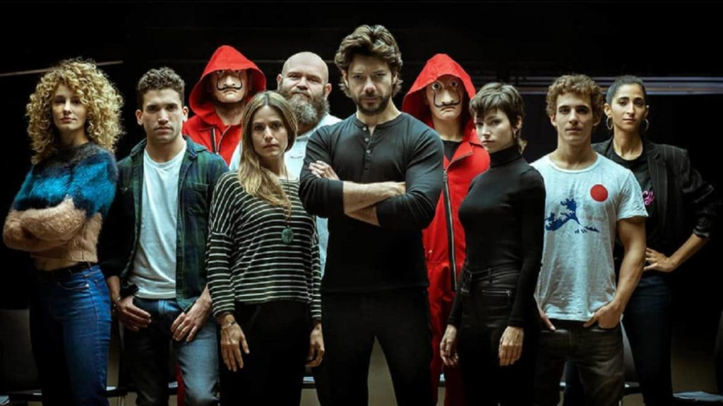 La Casa de Papel (Money Heist) Seasons 1, 2 and 3 with English Subtitles