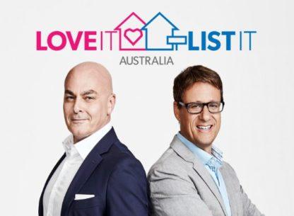 Love It or List It Australia on DVD
