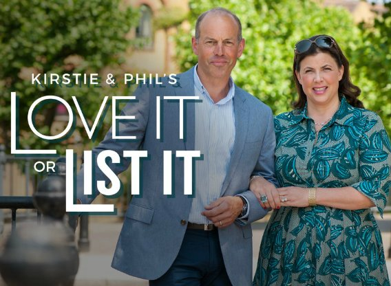 Kirstie and Phil's Love It or List It Seasons 3 + 4 on DVD