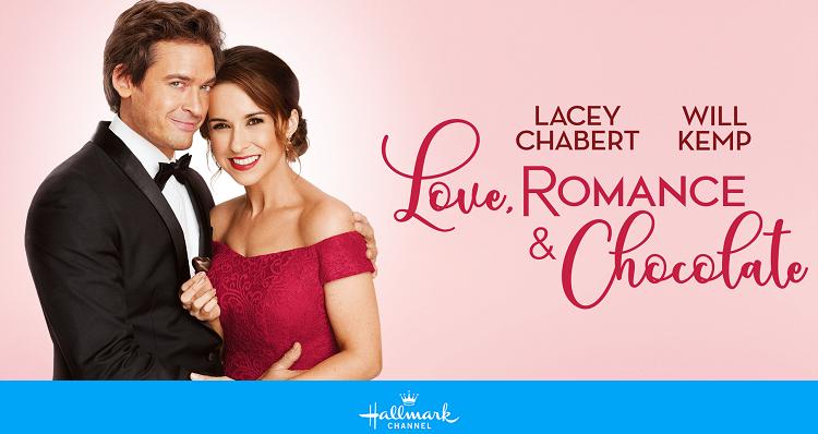 Love, Romance, & Chocolate (2019) starring Lacey Chabert, Will Kemp