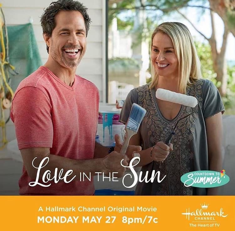 Love in the Sun 2019 (Hallmark) starring Emeraude Toubia, Tom Maden