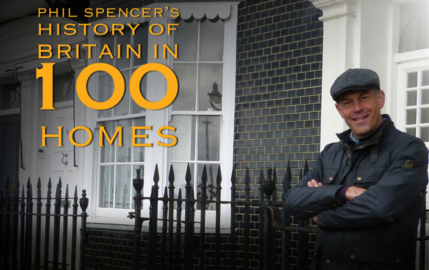 Phil Spencer: History of Britain in 100 Homes (2019) DVD