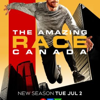 The Amazing Race Canada Season 7 DVD