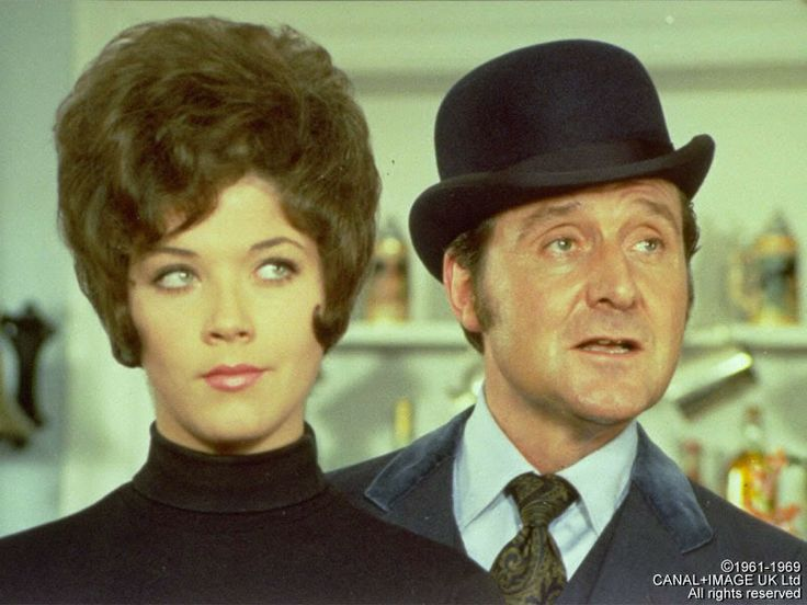 The Avengers (1966 – 69) starring Patrick Macnee Seasons 4, 5 and 6