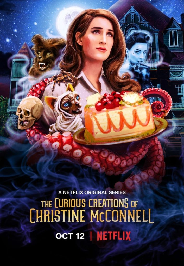 The Curious Creations of Christine McConnell Season 1 on DVD