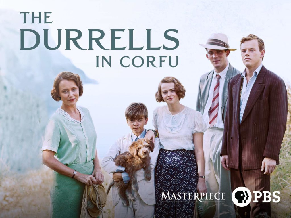 The Durrells in Corfu Seasons 1 and 2 on DVD