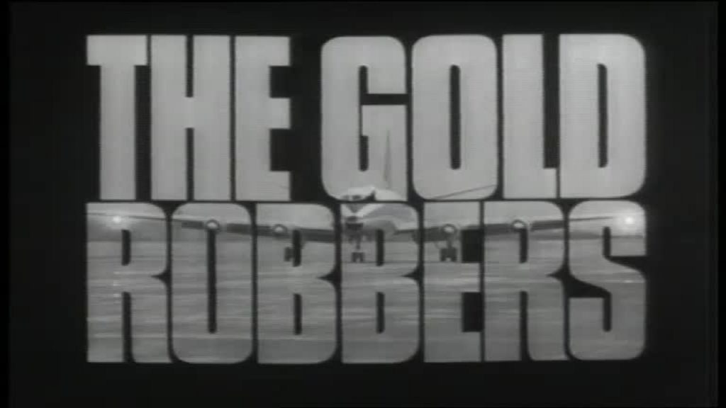The Gold Robbers (1969) starring Peter Vaughan on DVD